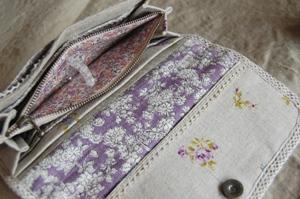 長財布 紫4ブログ