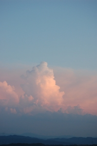 9、10 ピンクの雲 ブログ
