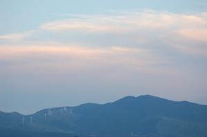 9,10 阿蘇 ピンクの雲 ブログ