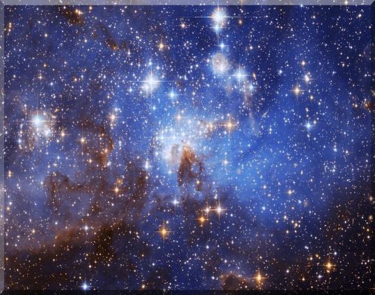 08-3-12 星の形成域、LH 95