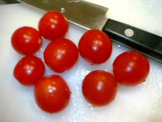 トマト収穫8個