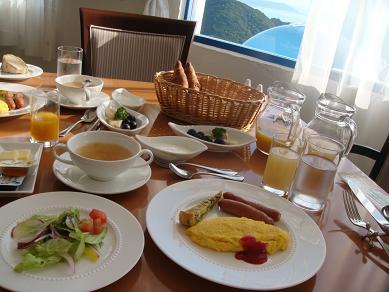 ヴィラサン朝食