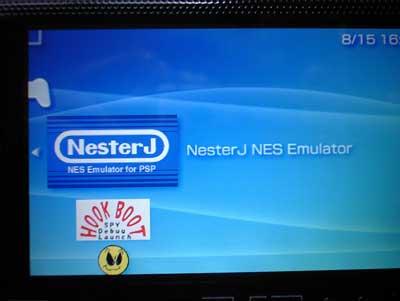 NES 起動