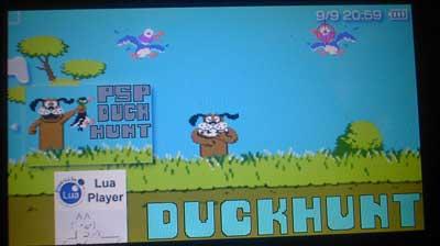 PSP Duck Hunt