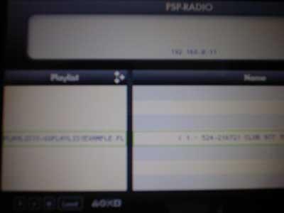 PSPでインターネットラジオ!PSPRadio 0.35 final