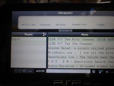 PSPRadioがバージョンアップ! PSPRadio 036 final