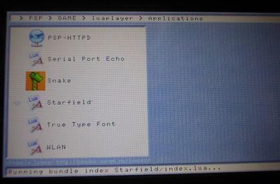PSPで便利ツールを使おう!Lua Player