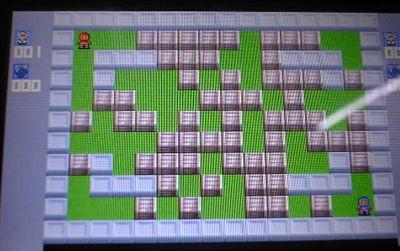 PSPでボンバーマンをやろう!Pomber v0.1