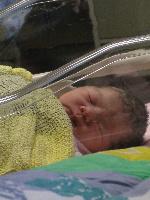 出産4時間後