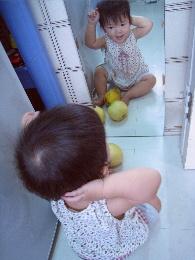 台所の鏡3