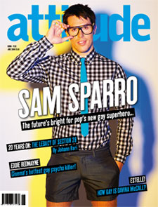 『attitude』2008年6月号表紙