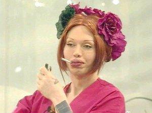 Celebrity Big Brother出演時のバーンズ姐さん