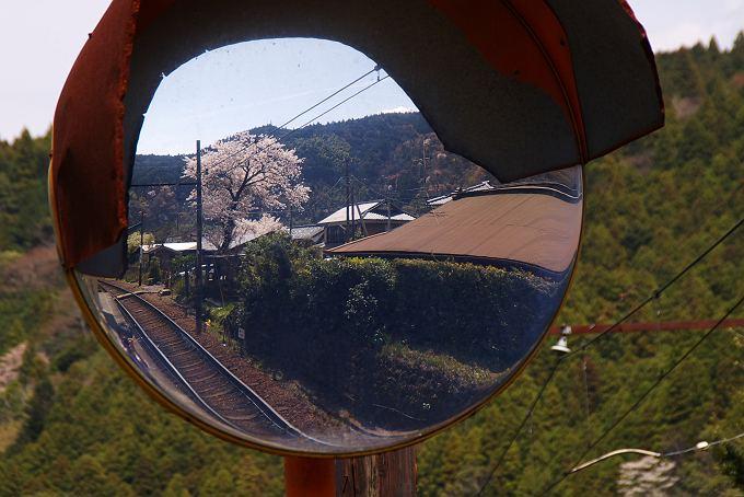 無人駅の風景