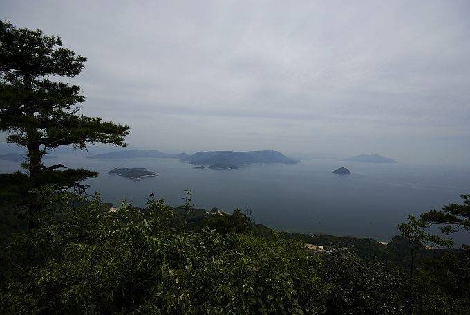 宮島 弥山からの風景