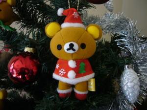 クリスマス限定マスコット