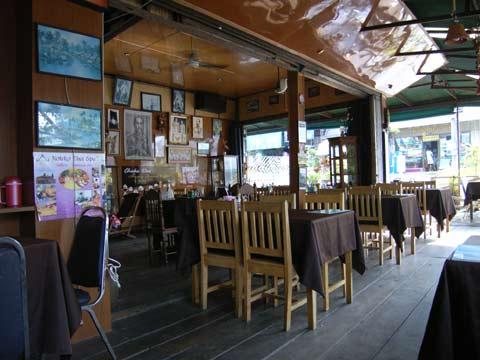 クラビのレストラン