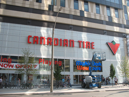 Canadian Tire at Eaton Centre