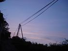 きれいな夕焼けでした