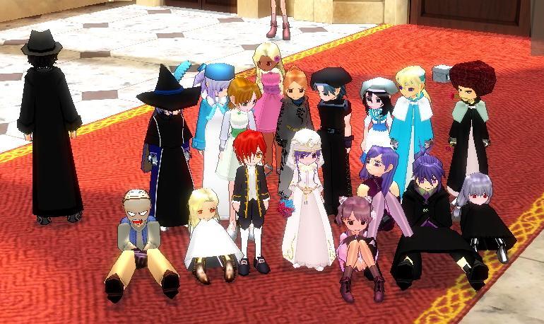 結婚式集合