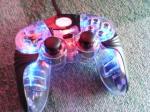 PS2コントローラーブルー