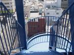 我が家の非常階段