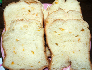 オレンジピールパン