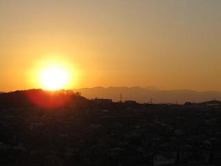 日の入り①