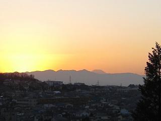 日の入り②