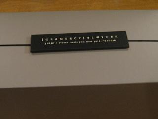 グラマシーニューヨーク ロールケーキ(パッケージ)