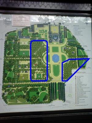 リュクサンブール公園全体図