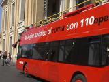 観光バス。短時間で名所めぐりに便利。