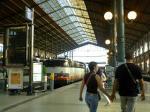 パリ北駅ホーム