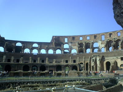 ローマのコロッセオ