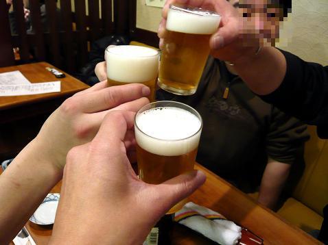 2次会乾杯