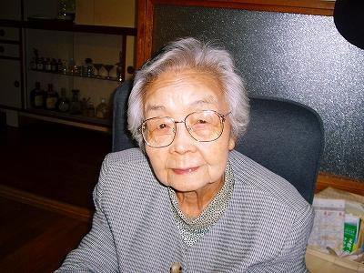 綺麗になったお祖母ちゃん