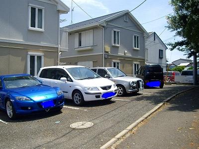 σ(・ω・テンё)の駐車場