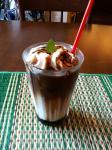 アイス黒蜜カフェ・オ・レ