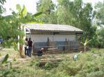 学校の飼育小屋