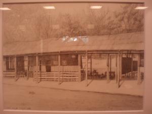 ステイ先の村の小学校