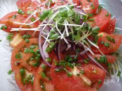 トマトのエスニックサラダ