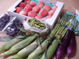 副賞1 野菜と果物