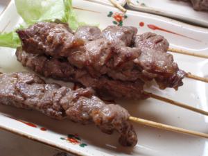 ラオス風牛ロース串焼き
