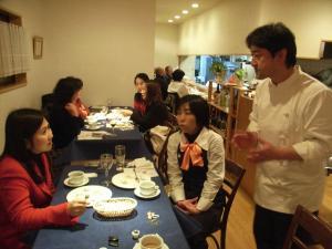 亀井さんと赤松シェフ