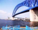 11千歳渡船場より千歳橋