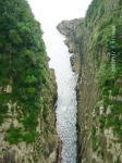 21 馬ヶ背・柱状摂理の断崖