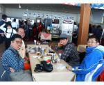 01 奥志賀のレストランにて