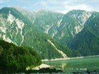 11 黒部湖と針ノ木岳1