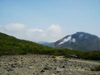 南月山から茶臼岳