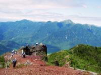 白根山と錫ヶ岳