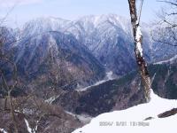 06 箒杉沢と蛭ヶ岳・不動ノ峰